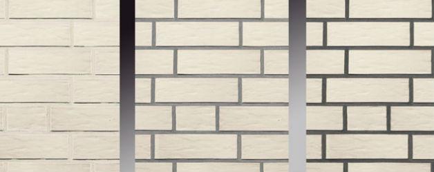 W zależności od tego jaką fugę wybierzemy mur z cegły może wyglądać zupełnie inaczej, fot.: Roben