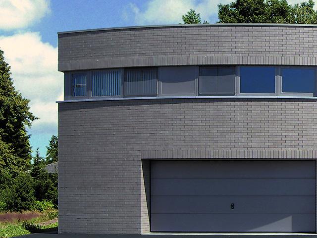 Zastosowanie fugi w kolorze cegły pozwoli uzyskać efekt nowoczesności, fot.: Roben
