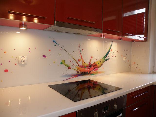 Panele dekoracyjne ze szkła, fot.: Colour Glass