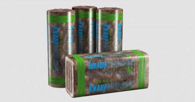 Brązowa wełna mineralna w ECOSE® Technology