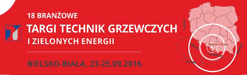 """18 Targi Technik Grzewczych i Zielonych Energii """"Instal System 2016"""""""