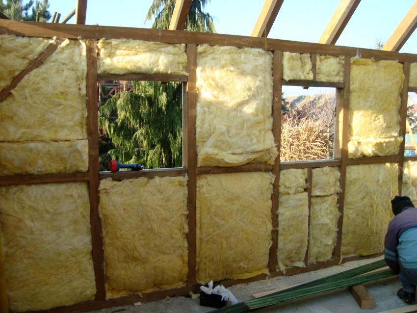 Garaż drewniany izolacja