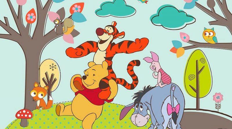 Chłopięcy świat tapet Walta Disneya